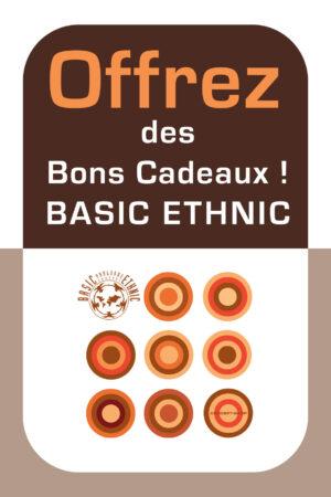 Bon cadeau Basic Ethnic